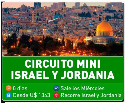 Tour Circuito Mini Israel y Jordania