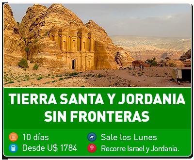 Tour Tierra Santa y Jordania sin fronteras
