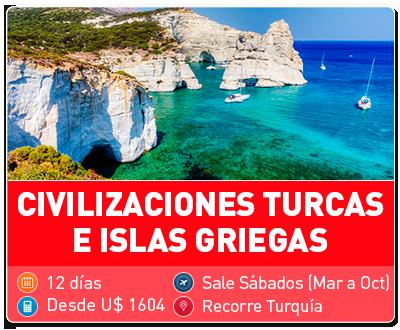 Civilizaciones Turcas e Islas Griegas