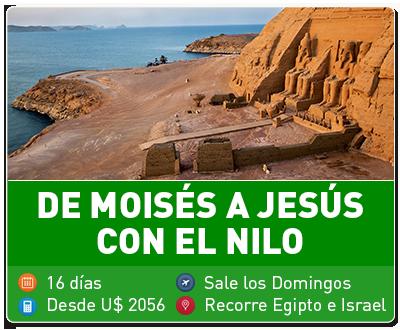 De Moises a Jesus con el Nilo