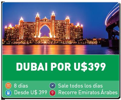 Tour Dubai por 399