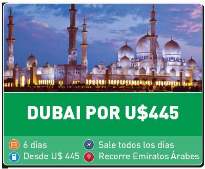 Tour Dubai por 445