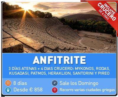 Tour Grecia Anfitrite