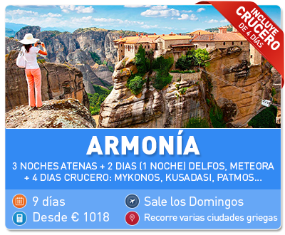 Tour Grecia Armonia