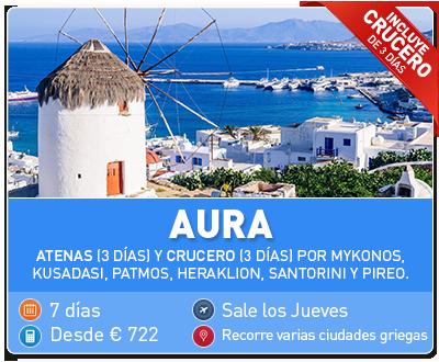 Tour Grecia Aura