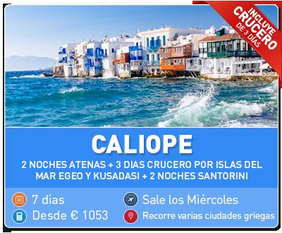 Tour Grecia Caliope