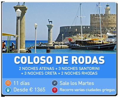 Tour Grecia Coloso de Rodas
