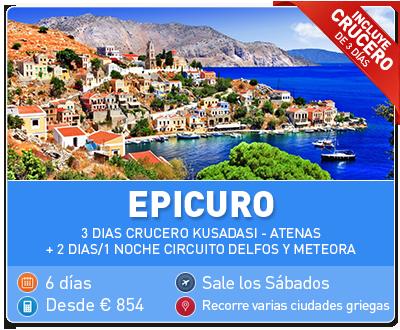 Tour Grecia Epicuro