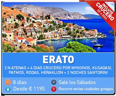 Tour Grecia Erato