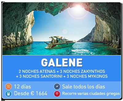 Tour Grecia Galene