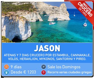 Tour Grecia Jason