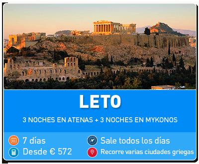 Tour Grecia Leto
