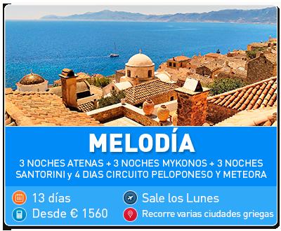 Tour Grecia Melodía