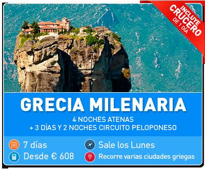 Tour Grecia Milenaria