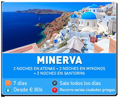 Tour Grecia Minerva