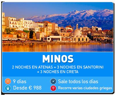 Tour Grecia Minos