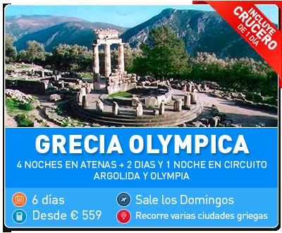 Tour Grecia Olympica