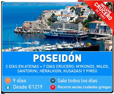 Tour Grecia Poseidon