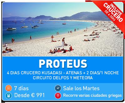 Tour Grecia Proteus
