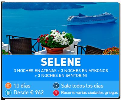 Tour Grecia Selene