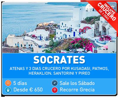 Tour Grecia Socrates