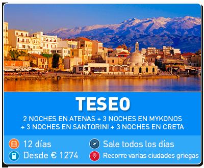 Tour Grecia Teseo