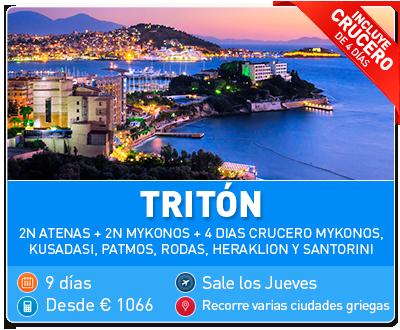 Tour Grecia Triton