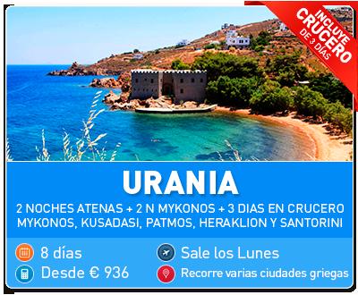 Tour Grecia Urania