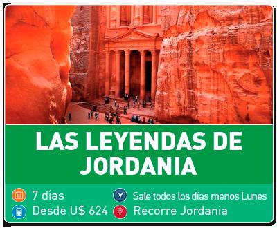Tour Las leyendas de Jordania