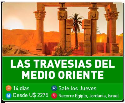 Tour Las Travesias del Medio Oriente