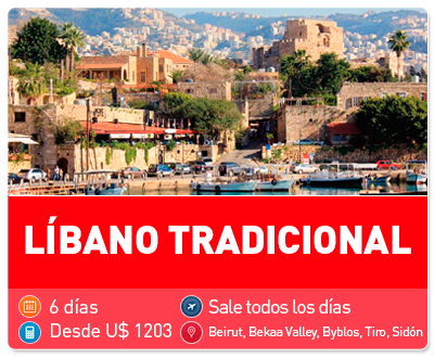 Tour Líbano Tradicional