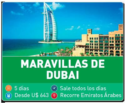 Tour Maravillas de Dubai