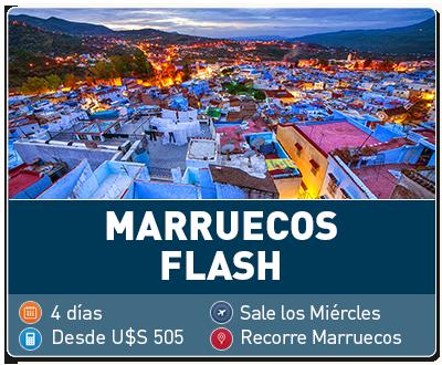 Tour Marruecos Flash