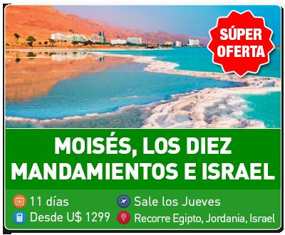 Tour Moises 10 Mandamientos e Israel