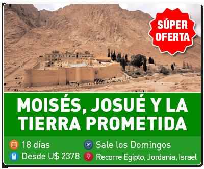 Tours Moises Josue y la Tierra Prometida