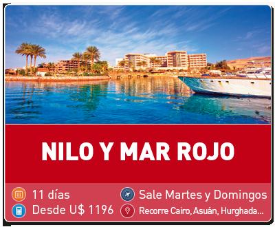 Tour Nilo y Mar Rojo