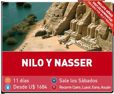 Tour Nilo y Nasser