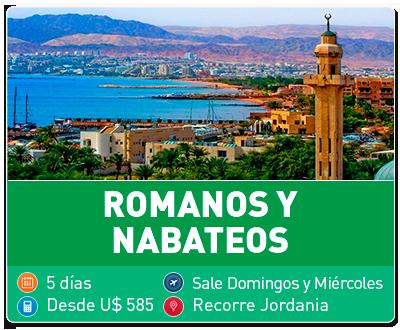 Tour Romanos y Nabateos