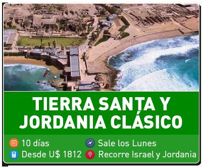 Tierra Santa y Jordania Clasico