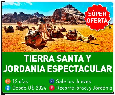 Tierra Santa y Jordania Espectacular