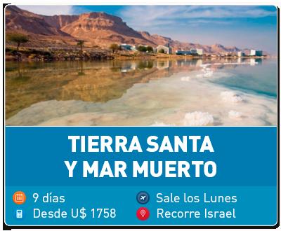 Tierra Santa y Mar Muerto