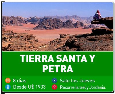 Tour Tierra Santa y Petra