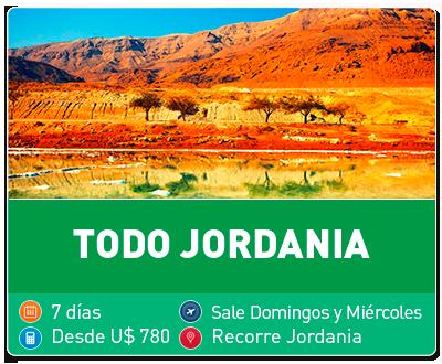 Tour Todo Jordania
