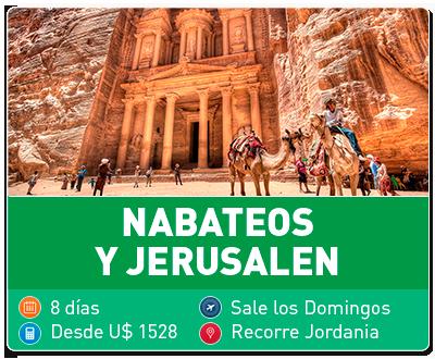 Tour Nabateos y Jerusalén